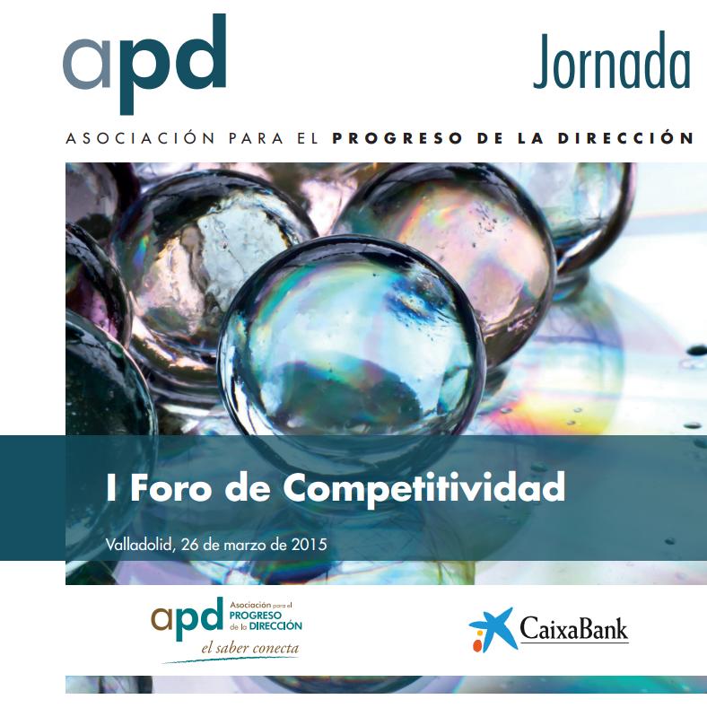 Imagen del I Foro de competitividad en Valladolid