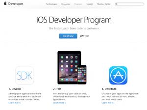 01 Enroll now iOS Developer Program