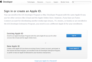 02 Sign in or create an Apple ID